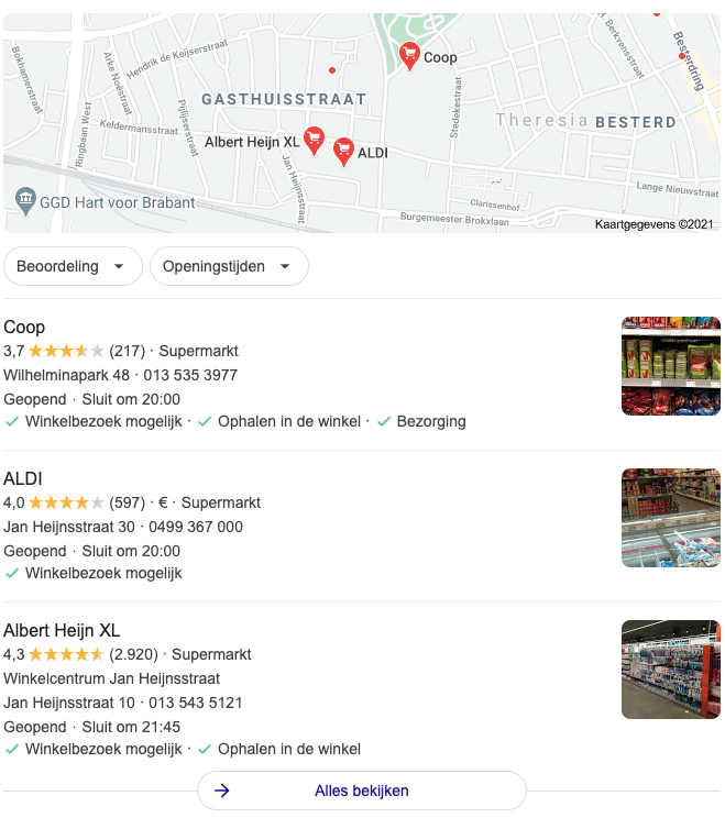 Google reviews vindbaarheid